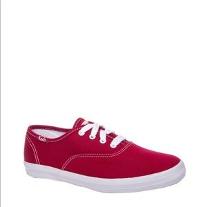 Keds Red Champion Canvas Sneaker Size 10